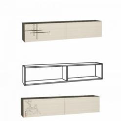 Киото-1 902 Шкаф навесной (НИК Мебель)