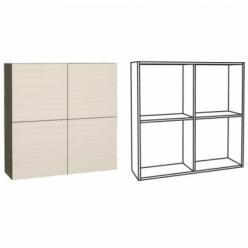 Киото 904 Шкаф навесной (НИК Мебель)