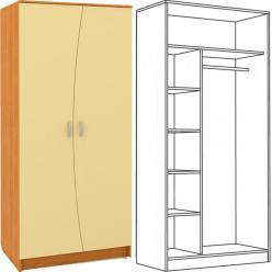 НИКА Шкаф 401 М (НИК Мебель)