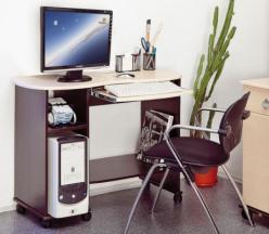 Компьютерный стол Костер - 3  (Олимп-мебель)