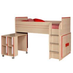 Кровать-чердак Севилья-15 (Олимп-мебель)