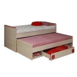 Кровать двухуровневая выдвижная Севилья - 16 (Олимп-мебель)