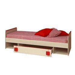 Кровать одинарная Севилья-13 (Олимп-мебель)