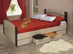 Кровать с ящиками (Олимп) (Олимп-мебель)