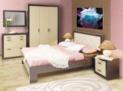 Спальня Венеция (Олимп-мебель)