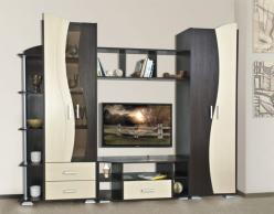 Стенка Глория-1 (Олимп-мебель)