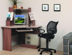 Стол компьютерный ПКС - 7 (Олимп-мебель)