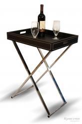 Сервировочный столик SR-0465 Лоракс (Черный)  (Рэд энд Блэк)