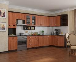 Угловая кухня Классика 4 (РОСТ)