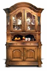Шкаф для посуды ГМ 5613Е серия Версаль (ГомельДрев)