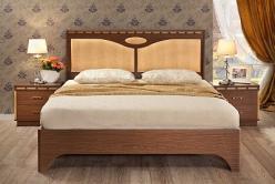 Кровать 2 на 1600 Кэри Голд (УфаМебель)
