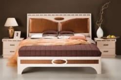Кровать 3 на 1800 Кэри Голд (УфаМебель)