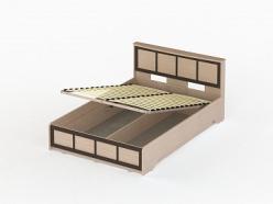 Соло 043 Кровать с подъемным механизмом на 140 (ВасКо)