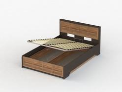 Соло 044 Кровать 160 с подъемным механизмом (ВасКо)