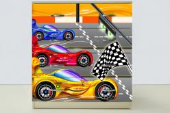Комод Спорт кар Желтый (ВиВера мебель)