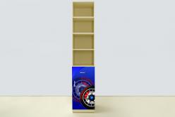 Пенал Спорт Кар синий (ВиВера мебель)