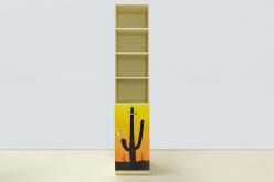 Пенал Мустанг желтый (ВиВера мебель)