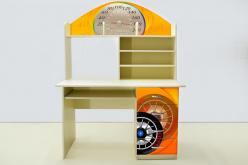 Стол письменный Спорт кар Желтый (ВиВера мебель)