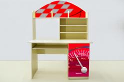Письменный стол Молния Красная (ВиВера мебель)