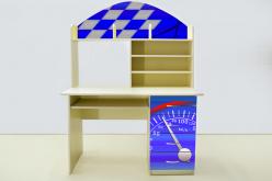 Стол письменный Молния Синяя (ВиВера мебель)