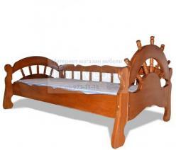 """Детская кровать """"Адмирал"""" на 90 (ВМК Шале)"""