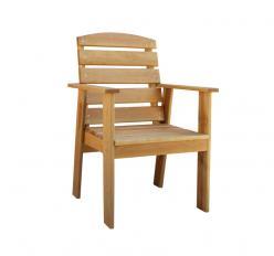 Кресло дачное Малибу массив клена (Woodmos)