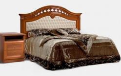 Европа-7 Кровать Delia без лежака с одной мягкой спинкой, без матраца) (Ярцево)