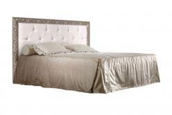 Кровать Тиффани с мягким элементом и стразами (Ярцево)