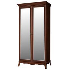 Шкаф 2-х дв. на ножках с зеркалами Амели (ноче) (Ярцево)