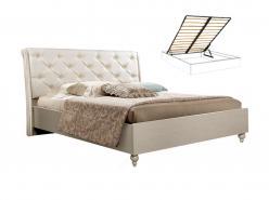 Венеция Кровать 2-х спальная (1,6 м) с подъемным механизмом (Ярцево)