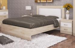 Ника Н20 Кровать 160*200 см с мягким элементом (Заречье)