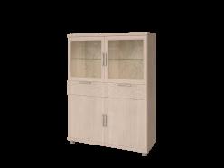25 «Ирис» Шкаф комбинированный (Арника)
