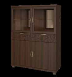 «Ирис» 25 Шкаф комбинированный (Арника)