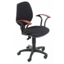 Кресло компьютерное CH-725 AXSN черное (Бюрократ) (Бюрократ)