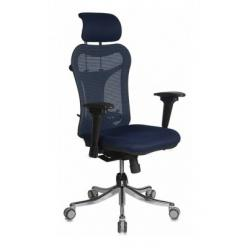 Кресло компьютерное CH-999 ASX синий (Бюрократ) (Бюрократ)