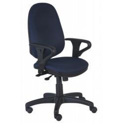 Кресло компьютерное T-612AXSN синее (Бюрократ) (Бюрократ)