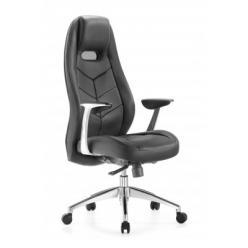 Кресло компьютерное Zen черный (Бюрократ) (Бюрократ)