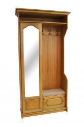 """Шкаф """"Давиль"""" ММ-126-66 (медовый дуб + золотая патина) (Молодечномебель)"""