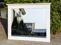 Зеркало Индра Д 7137, белый воск (Диприз)