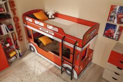 Автобус 1 Кровать двухъярусная (Глазов-мебель)