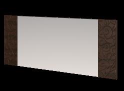 Зеркало настенное со вставками 18 «Ирис» (Арника)