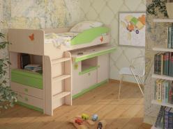 Детская № 4.1.2 П/Л (эвкалипт) + Лестница №3 (Корвет)