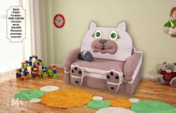 Диван детский Кошка 120 (М-стиль) (М-стиль)