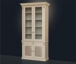 Шкаф для книг карамель (Мебель Благо)