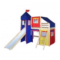 Кровать-чердак игровая Рыцарь-1 (Мебель-Холдинг)