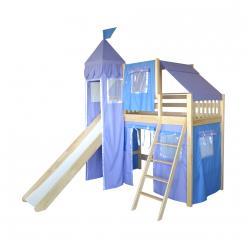 Кровать-чердак игровая Рыцарь-4 (Мебель-Холдинг)