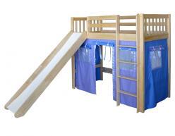 Кровать-чердак игровая Трубадур-4 (Мебель-Холдинг)