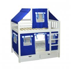 Кровать игровая 2х-ярусная Скворушка-1 (Мебель-Холдинг)