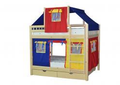 Кровать 2х-ярусная Скворушка-2 (Мебель-Холдинг)