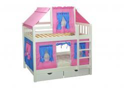 Кровать игровая 2х-ярусная Скворушка (Мебель-Холдинг)